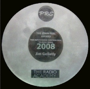 Jim Gellatly John Peel Award