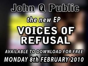 John Q Public - Voices of Refusal EP