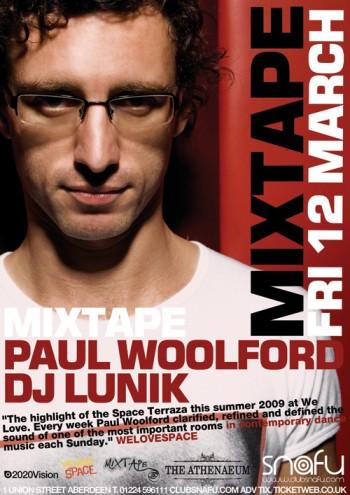 Paul Woolford DJ Lunik Flyer