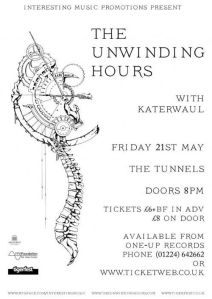 The Unwinding Hours - Poster