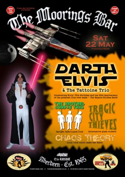 Darth Elvis Poster