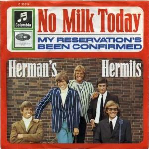 Herman Hermits - No Milk Today