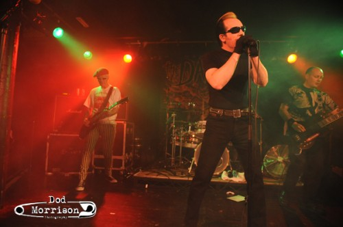 The Damned - The Warehouse - Aberdeen