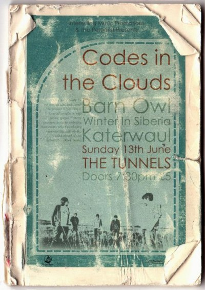 Codes in the Clouds Poster
