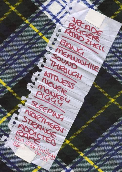 Sonic Boom Six Set List