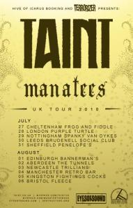 Taint & Manatees Poster