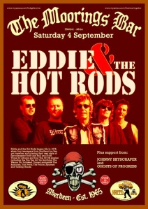 Eddie and the Hot Rods Poster