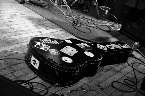 Mark Morriss' Guitar Case