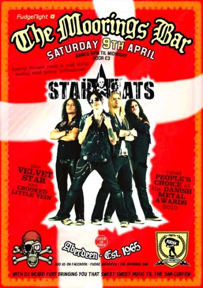 Star*Rats - Moorings Bar, Aberdeen