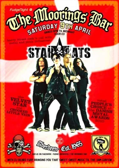 Star*Rats - Moorings Bar, Aberdeen