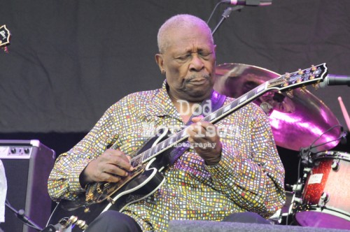 BB King - Glastonbury Festival 2011