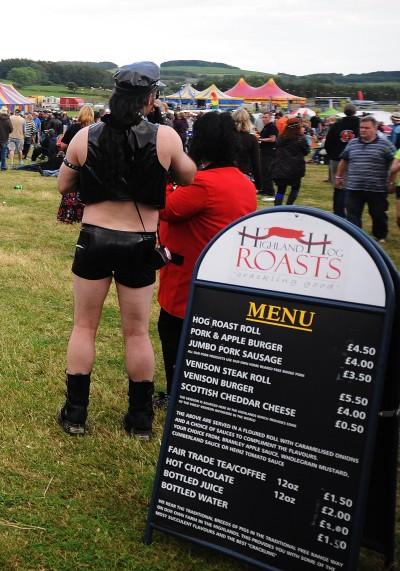 Jumbo sausage sir? No thanks!