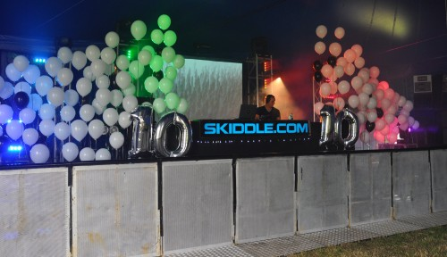 Skiddle Dance Tent