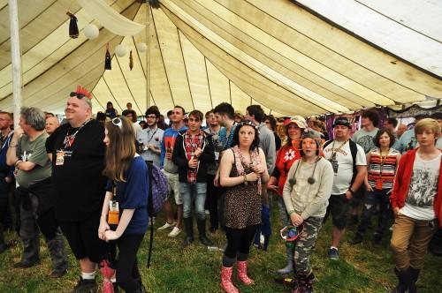 Solus Tent Crowd