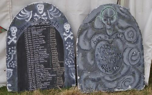 Gravestone listings