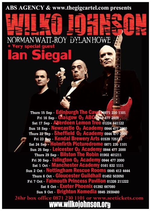 Wilko Johnson Poster