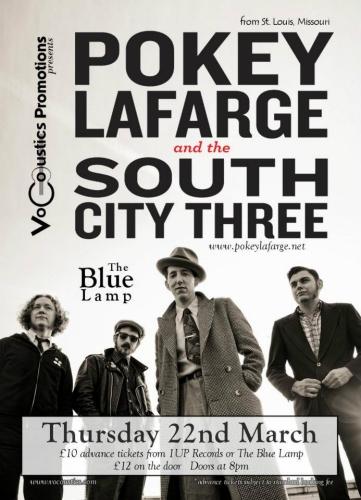 Pokey LaFarge - Blue Lamp, Aberdeen