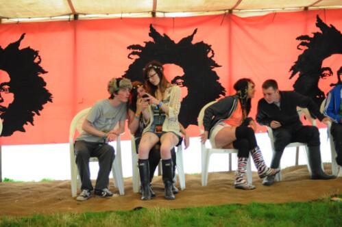 Axis Reggae Tent - Wickerman Festival 2012
