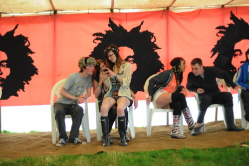 Axis Reggae Tent - Wickerman Festival 2012