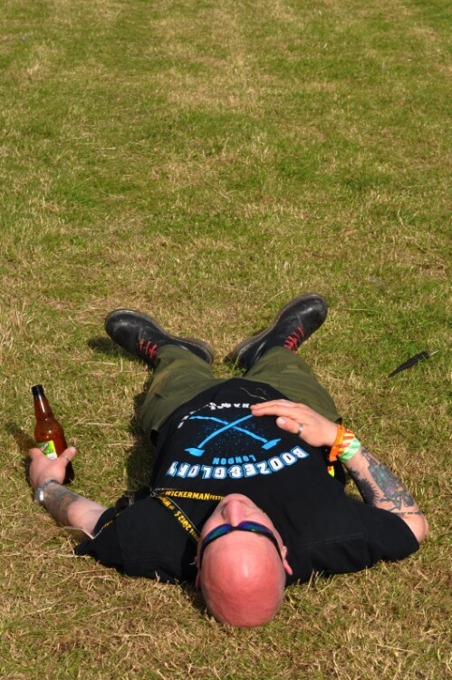 Chillin' - Wickerman Festival 2012