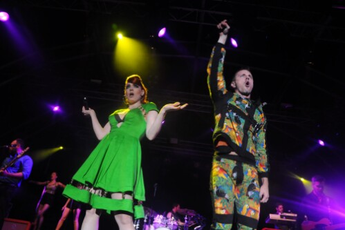 Scissor Sisters - Wickerman Festival 2012
