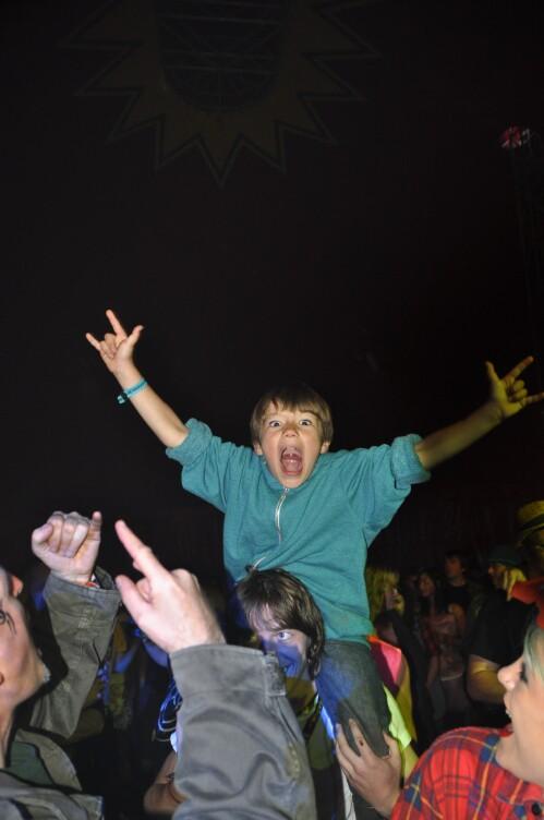 Test Tubes Crowd - Wickerman Festival 2012