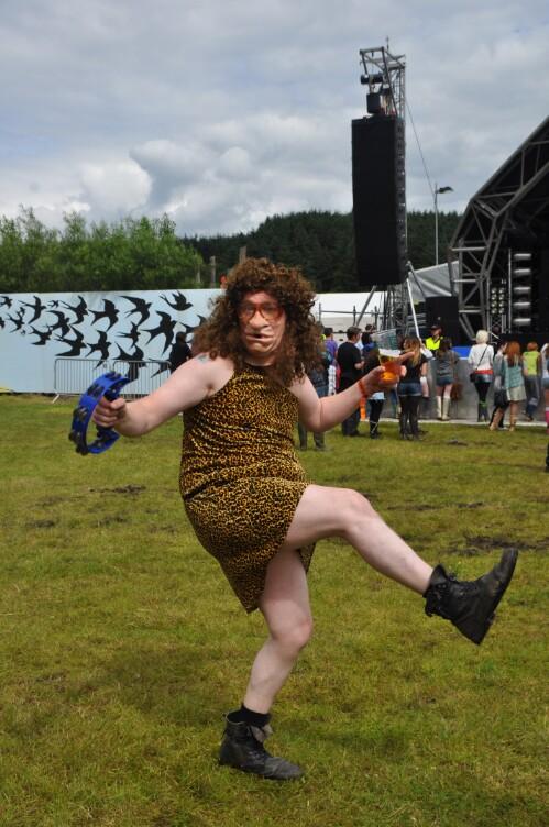 Dancer - Wickerman Festival 2012
