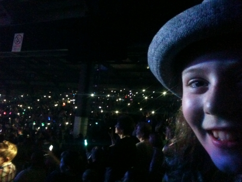 Daisy at X-Factor, Aberdeen