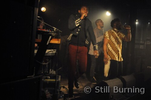 Young Fathers - The Garage, Aberdeen