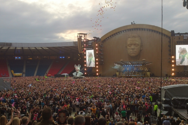 Robbie Williams, Hampden Park, Glasgow