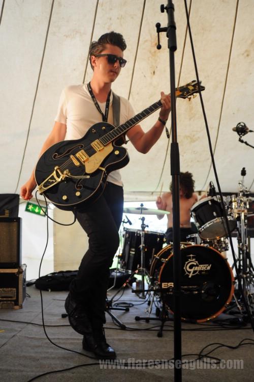 The Velveteen Saints - Wickerman Festival 2013
