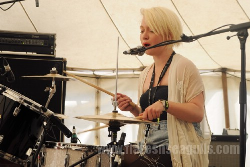 Honeyblood - Wickerman Festival 2013