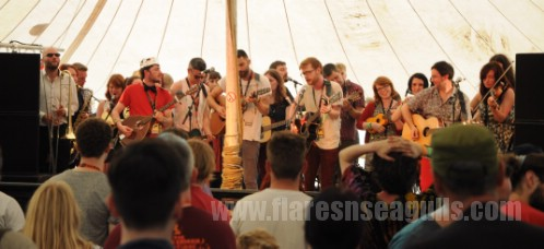 Blochestra - Wickerman Festival 2013