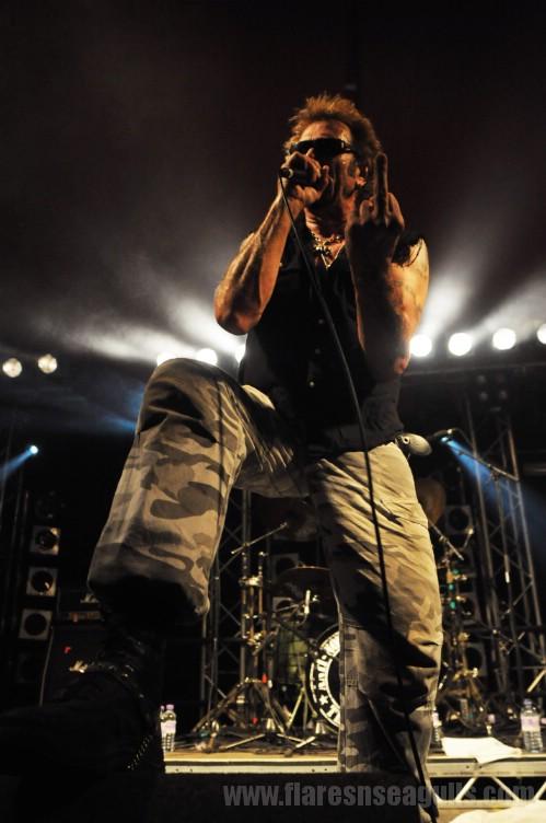 Anti-Nowhere League - Wickerman Festival 2013