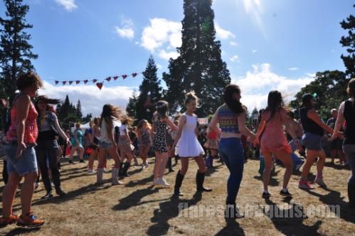 Dancers - Belladrum Festival 2013