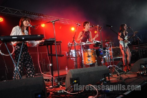 Stealing Sheep - Belladrum Festival 2013