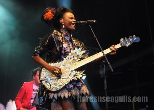 The Noisettes - Belladrum Festival 2013