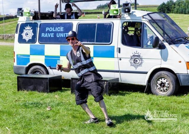 Police Rave Unit - Wickerman Festival 2014 - flaresnseagulls.com