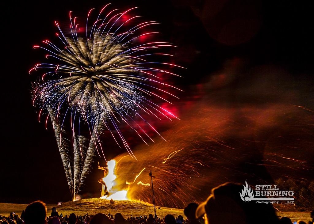 Wickerman Burning - Wickerman Festival 2014 - flaresnseagulls.com