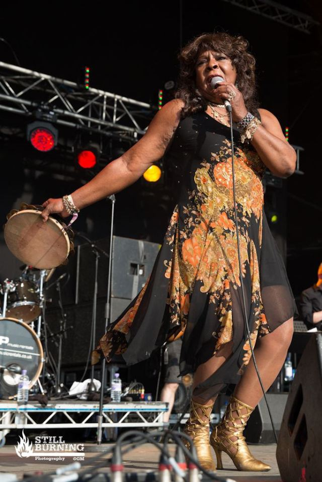 Martha Reeves - Wickerman Festival 2014 - flaresnseagulls.com