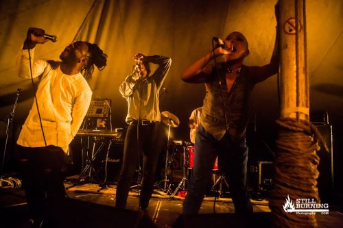 Young Fathers and LAW - Wickerman Festival 2014