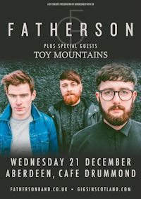 Gig of the Month - Fatherson & Toy Mountains