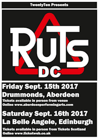 Ruts DC - Drummonds, Aberdeen