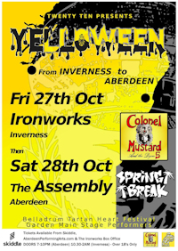Colonel Mustard and the Dijon 5 - The Assembly, Aberdeen
