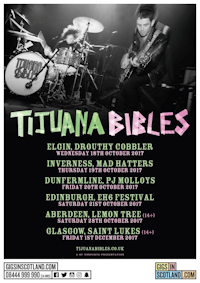 Tijuana Bibles - The Lemon Tree, Aberdeen